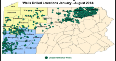 USGS Releases Land Disturbance Data in Pennsylvania