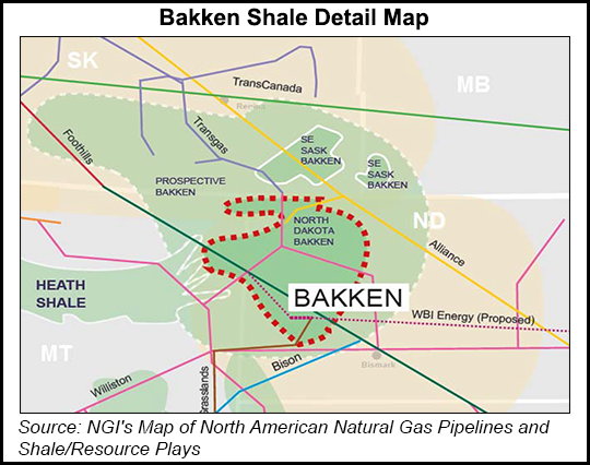 Bakken Shale Map Canada Canadian E&P Sees Different Side of Bakken   Natural Gas Intelligence