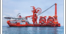 Pipelay Record Set in Deepwater GOM