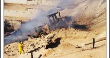 Digging Ruptures PG&E Pipeline; 14 Injured