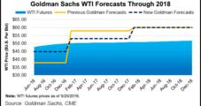 Goldman Credits 'Shale Productivity Scenario' in Higher U.S. Oil Price Forecast