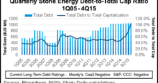 Stone Energy's Borrowing Base Cut; Default A Possibility