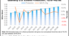 EIA Sees Ethane Production, Consumption Rising Through 2018