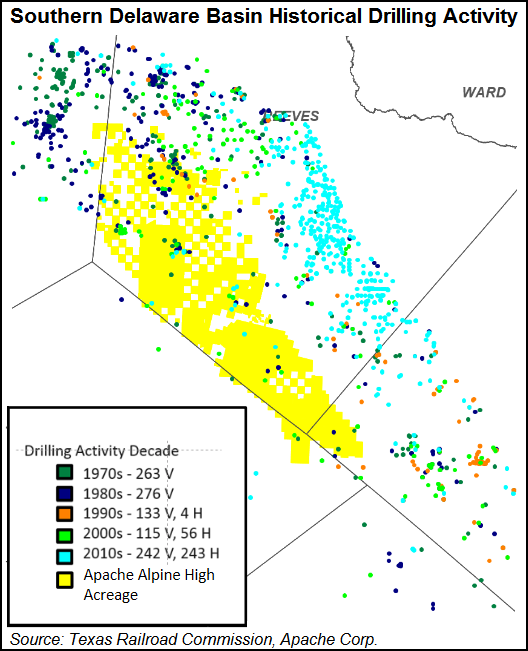 Alpine High Oil Field Map Texas Apache Partners to Monitor Water Quality in Permian's Alpine High