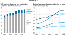 U.S. NGL Plant Output Set Record in 2017 and More Growth to Come, EIA Says