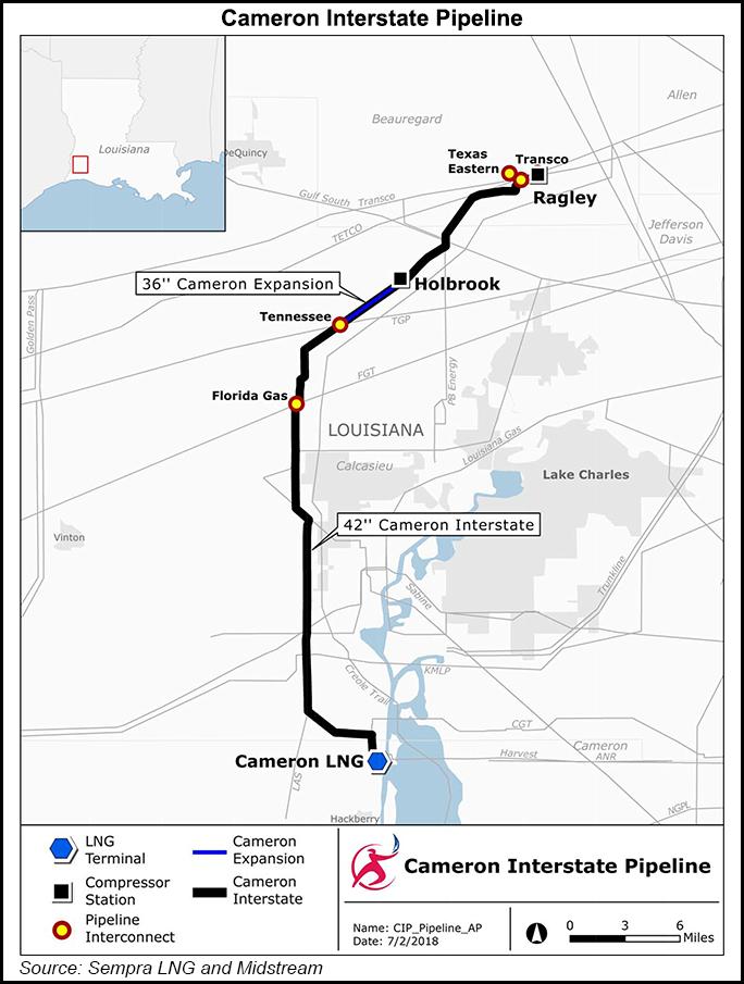 Cameron Interstate Pipeline