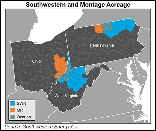 Southwestern and Montage Acreage