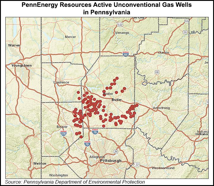 Penn Energy wells