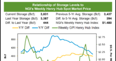 Natural Gas Futures Prices Erratic Following High-Side EIA Storage Report