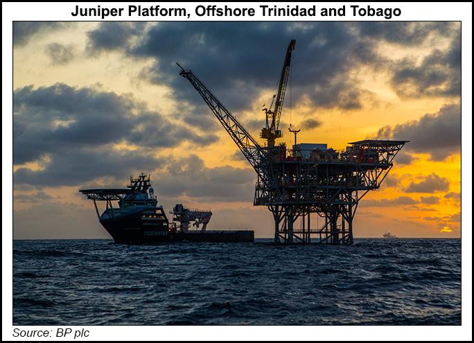 BP Juniper offshore platform