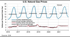 U.S. Natural Gas Prices to Average $3.13 in 2021, as Demand Mounts, Says EIA