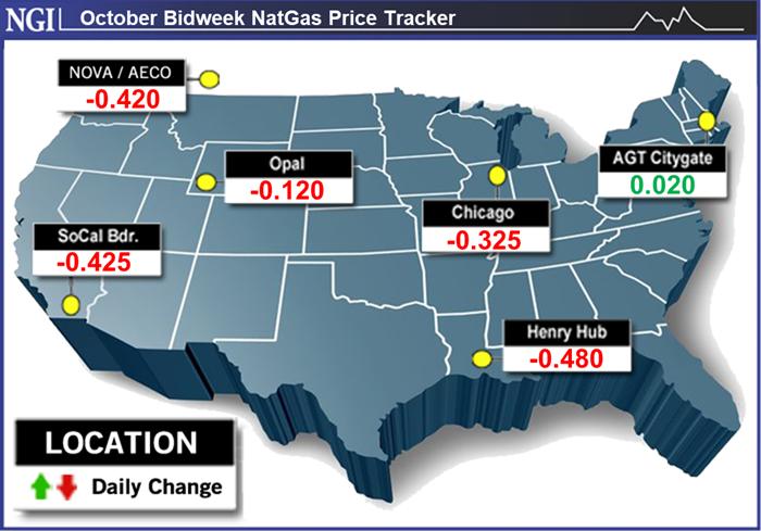 natural gas bidweek