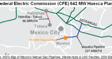 Mexico's CFE to Add 642 MW Natural Gas Power Plant to Fleet in December
