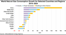 Asia to Power Global Natural Gas Demand Growth to 2024, Says IEA