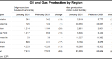 Haynesville Stands Out as Only U.S. Natural Gas Basin to See Higher Output in February, Says EIA